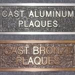 Cast Aluminum & Bronze